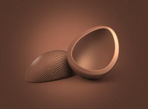 Ilustração 3D  Ovo de Páscoa
