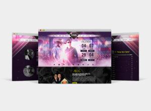 Site para cantores: Evandro & Agnaldo