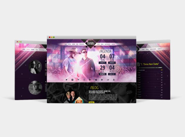 site para cantores