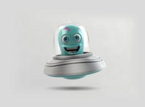 Ilustração 3D ET