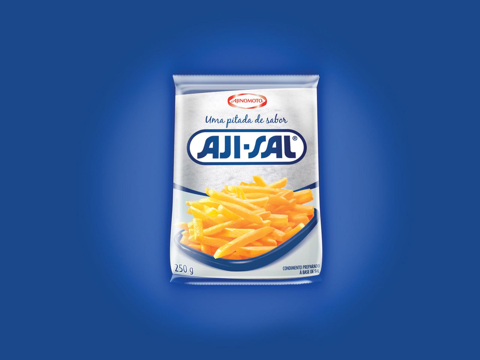 Embalagem/Mockup Virtual Aji-Sal
