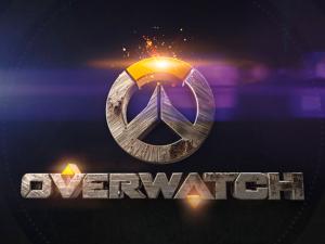 Logotipo 3D Overwatch