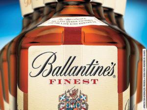 Adesivo Fachada Ballantine's