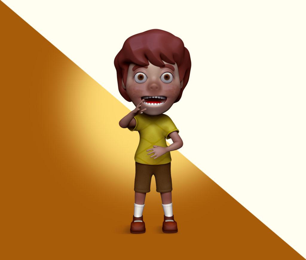 mascote 3d