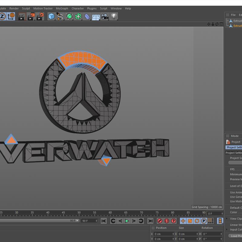 criar logo 3d