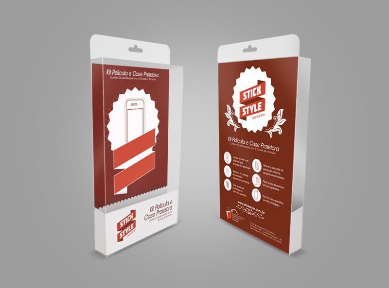 Cliente: Stick Style | Job: Embalagem/Mockup Virtual | Categoria: Embalagem | Ano: 2012